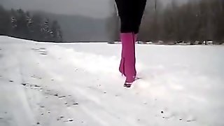 Sexy Young Girl Black stiletto boots-More Video downloads on SEXGIRLPORNCAM.com