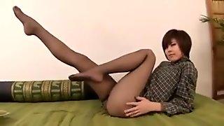 japanese beautiful pantyhose legs