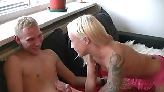 REAL - GERMAN FIRST TIME TEEN ANAL WITH PAIN
