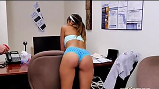 New Cleaning Lady At The Office Fucked Hard