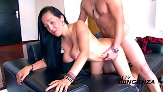 Tu Venganza - Hot Latina gets her big boobs jizzed
