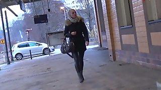 My Dirty Hobby - Lara-Cumkitten sucks for a ticket