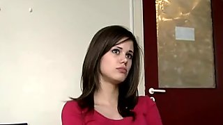 Amateur czech girl fucked in casting room
