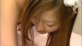 Chihiro Hara Lovely Asian maid