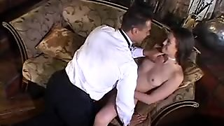 Horny bride banged before the wedding