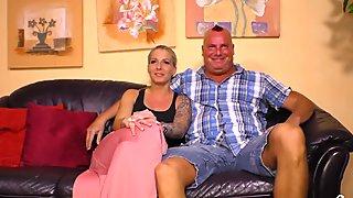 Sextape Germany - German sex tape with hot tattooed blondie