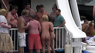 party cove chicks pee too