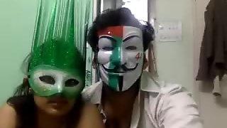 Indian Beautiful GF Sex- 69hotwebcams.com