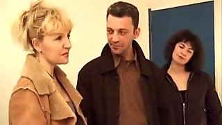 Pair Of French Milfs Bang Some Lucky Guy