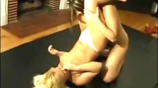 Perfect lesbian wrestling sex they are so beautiful